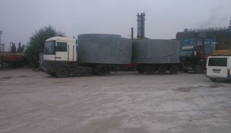 Installation of exhaust ducts at Ilyich Iron and Steel Works (METINVEST)